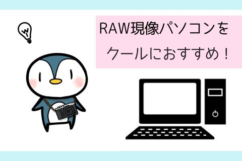 RAW現像パソコン