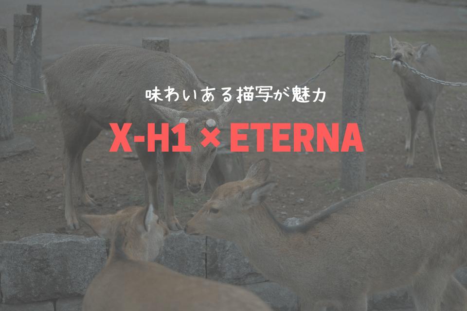 X-H1×ETERNA