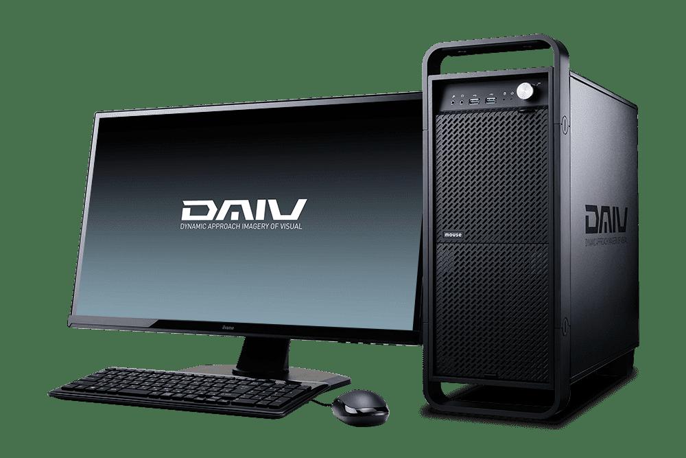 DAIV,デスクトップ