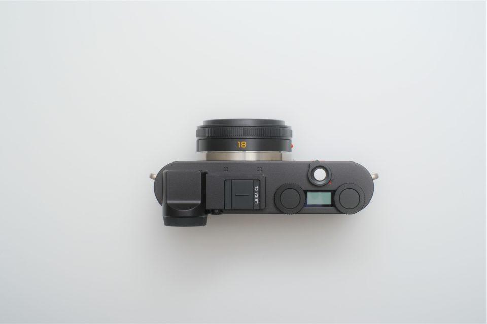 Leica CL,操作ボタン,ダイヤル