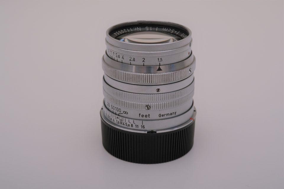 Leitz Summarit 50mm/f1.5.,写真,ブログ,外観