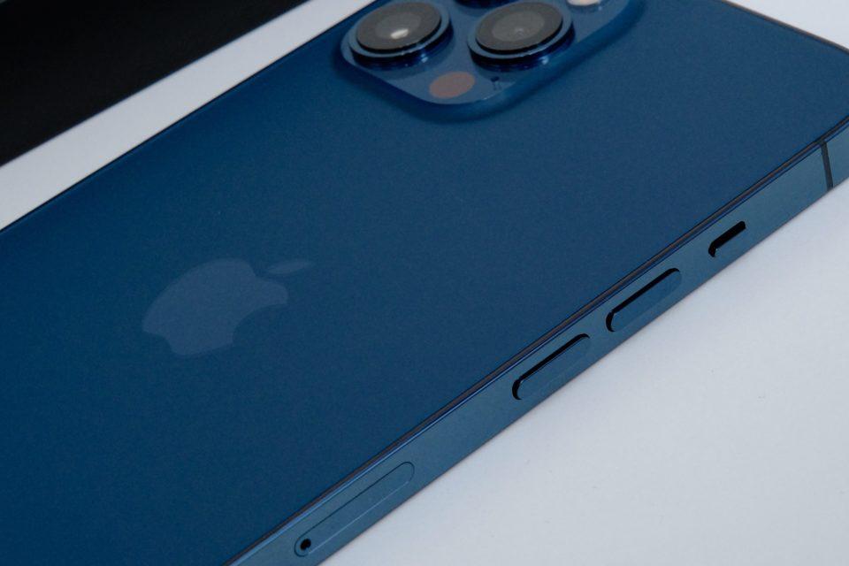 iPhone 12 Pro Max,レビュー,ボタン,比較