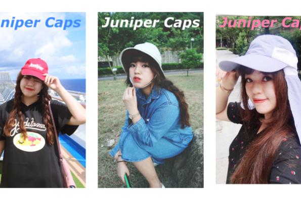 美國品牌Juniper Caps專業機能防曬帽開箱&戶外運動首選帽款♥這個夏天不曬黑的秘密武器♥