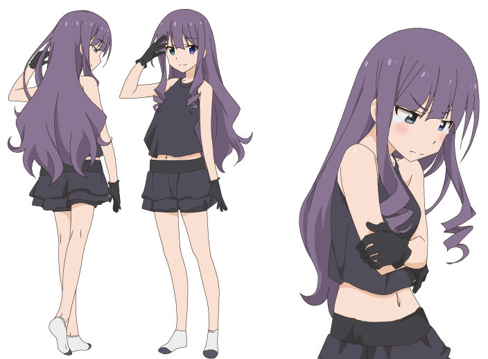 Ani Tore! EX character designs Shion Tachibana