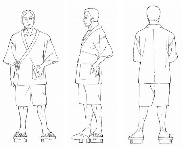 Dagashi Kashi anime character design You Shikada