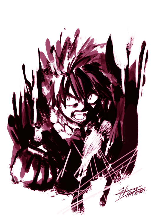 Fairy Tail Gets Spooky with New Halloween Sketches 9