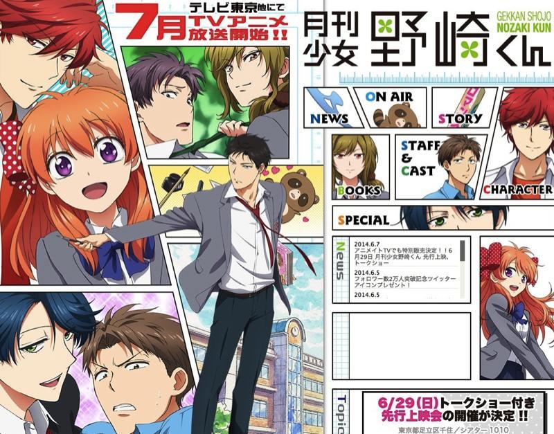 Anime Trending Rankings of Summer 2014 – Week 4