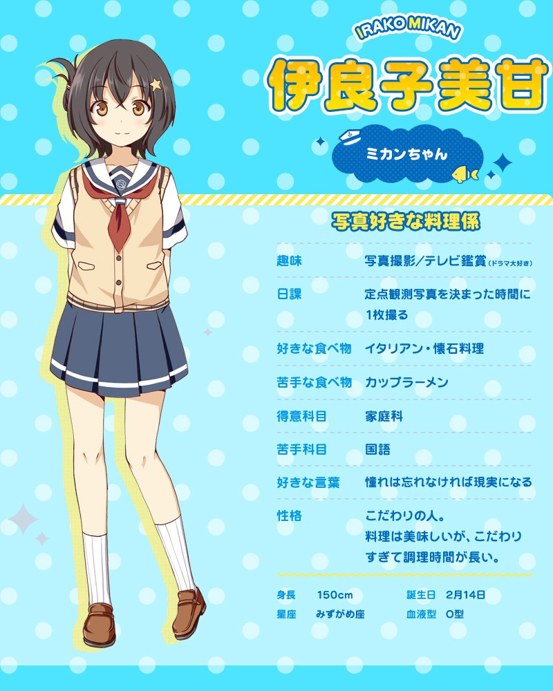 Hai-Furi-Character-Designs-Mikan-Irako