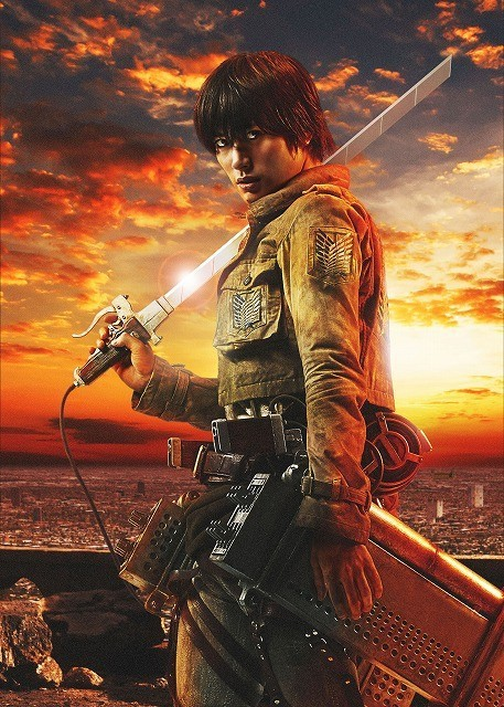 Live-Action Attack on Titan Cast Reveals Armin Isn't Blonde and Hanji Has a RPG haruhichan.com shingeki no kyonjin live action movie Haruma Miura as Eren