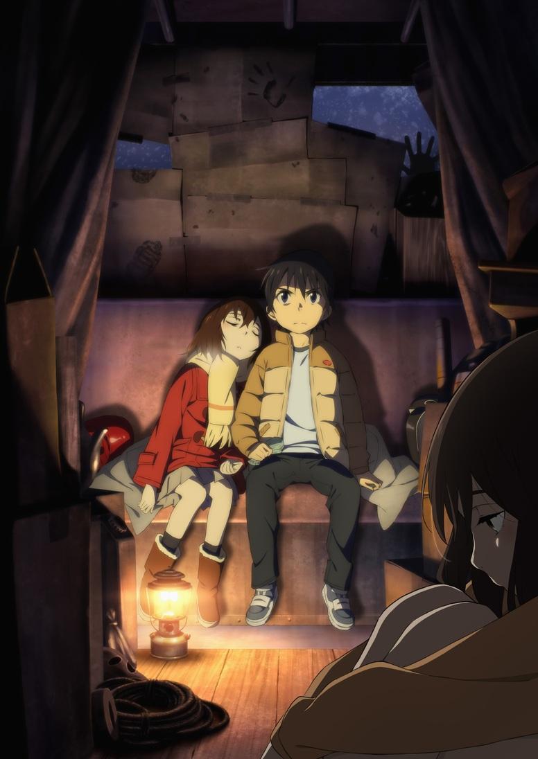 New Boku dake ga Inai Machi Anime Key Visual