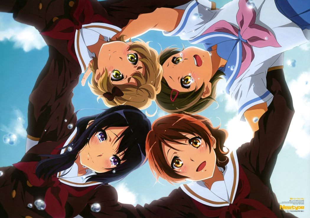 NewType August 2015 Hibikie! Euphonium poster visual