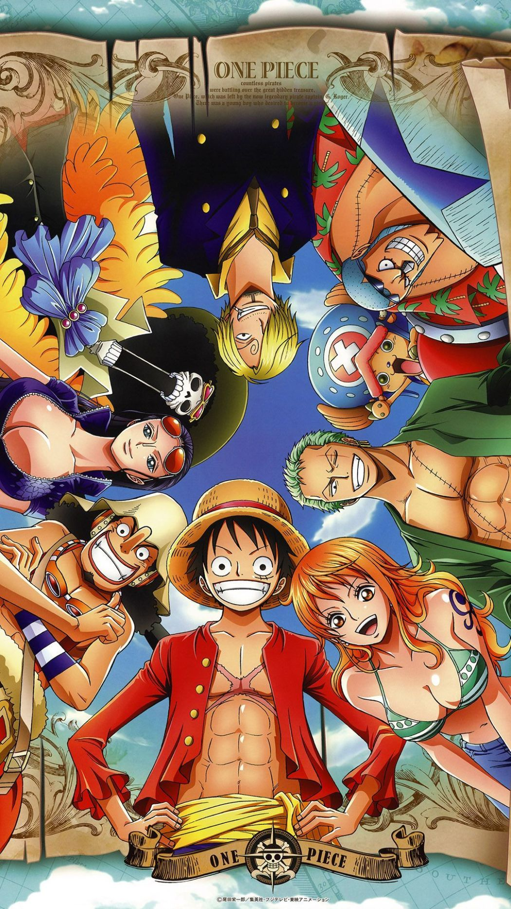 One Piece anime visual haruhichan.com One Piece anime