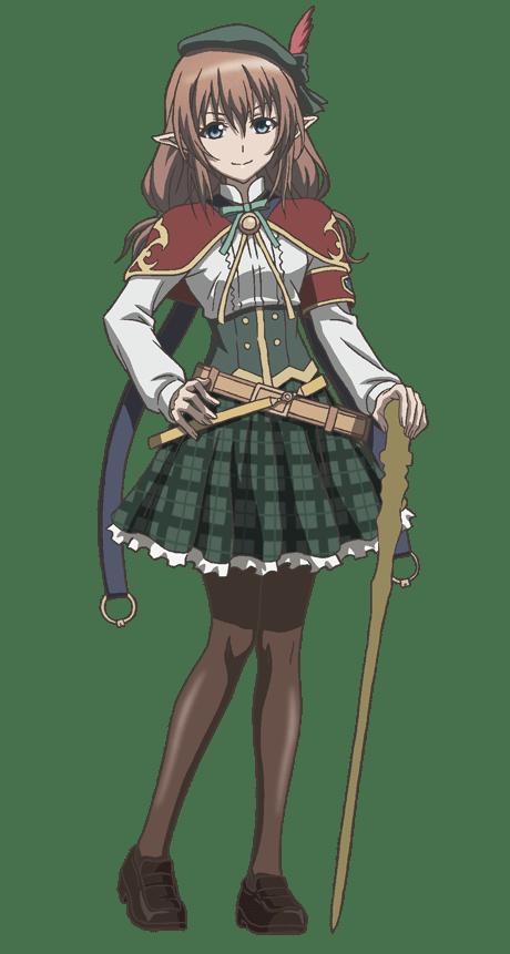 Shingeki no Bahamut Manaria Friends Cast and Character Designs Revealed Hannah