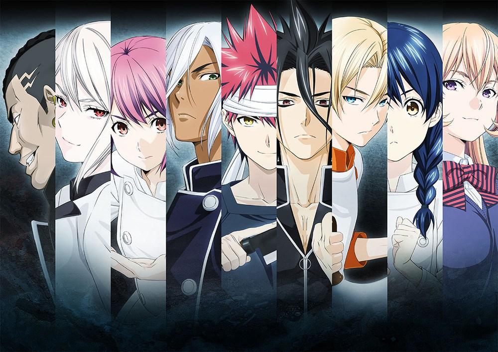 Shokugeki no Souma Season 2 Anime Visual Revealed