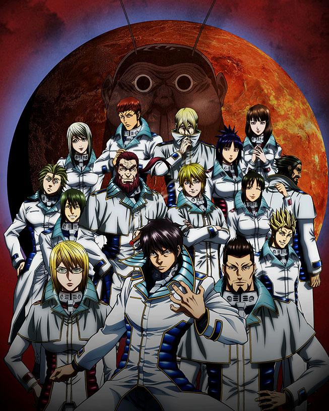 Terra Formars anime visual haruhichan.com TERRAFORMARS
