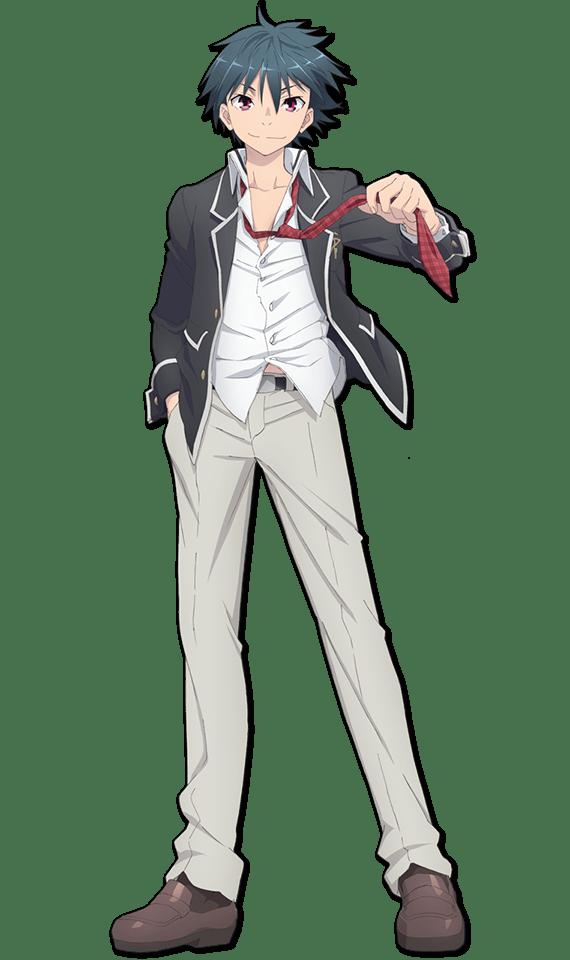 Trinity Seven anime cast character Arata Kasuga haruhichan.com トリニティセブン Fall 2014 anime Trinity Seven Promotional Video 3, Key Visual, Cast and Staff Revealed