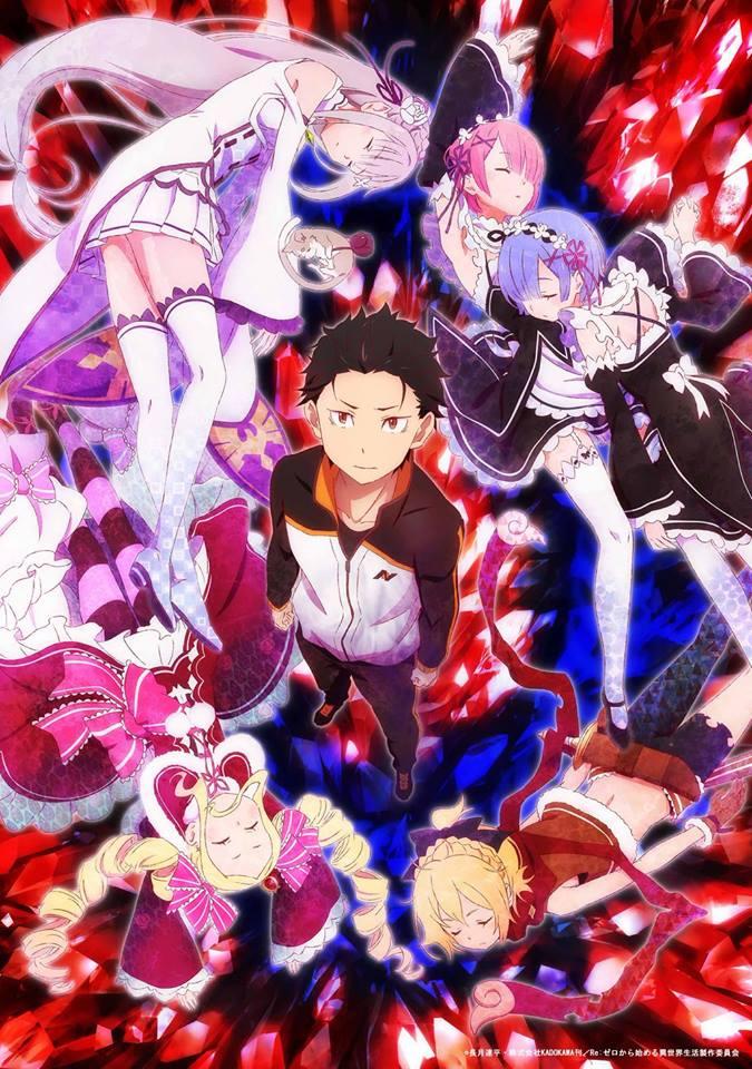 re zero anime visual