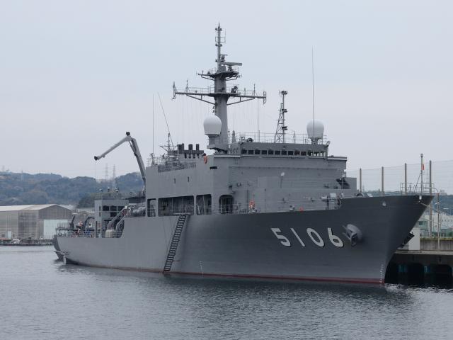 現代海軍・影の立役者「観測艦」