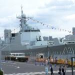 中国海軍・052D型駆逐艦『太原』を見てきた。