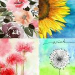 20 Easy Flower Watercolor Painting Ideas To Try Harunmudak
