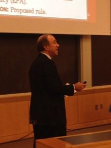 Richard Lazarus, Howard J. and Katherine W. Aibel Professor of Law at Harvard Law School.