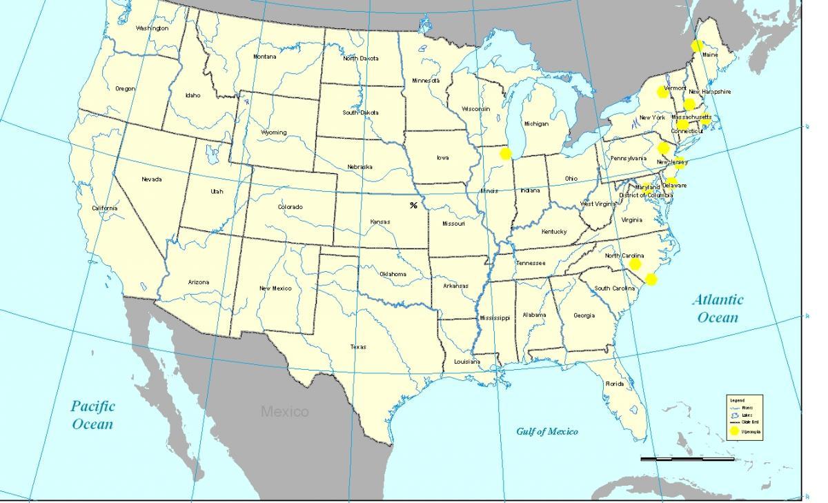 Illinois Swansea Map