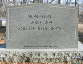 Moneyball Tombstone
