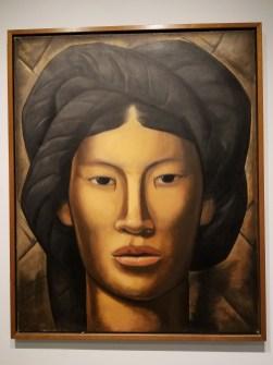 La Malinche (Young Girl of Yalala, Oaxaca), c. 1940 by Alfredo Ramos Martinez