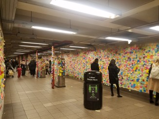 Union Square Wall of Messages