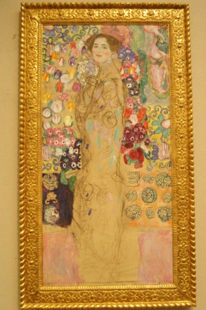 Frauenbildnis (Portrait of Ria Munk III) by Gustav Klimt, Philadelphia Museum of Art