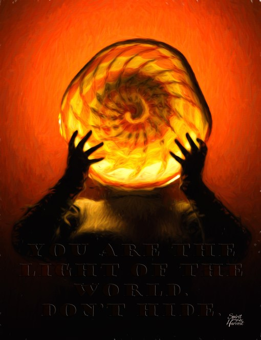 You are the light of the world. Don't hide. (2015)