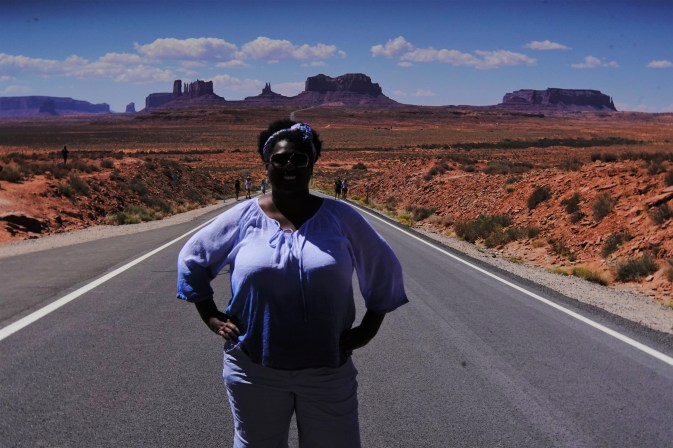 Forest Gump Point view of Monument Valley