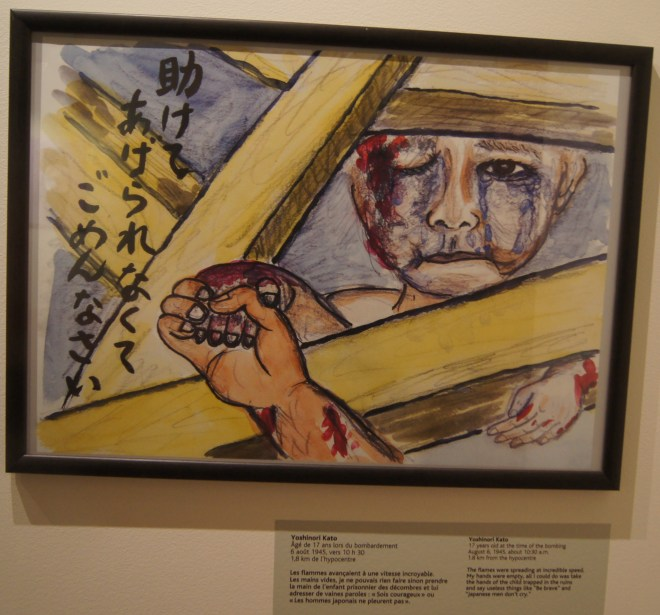 by Yashinori Kato 17yrs old at the time of the bombing