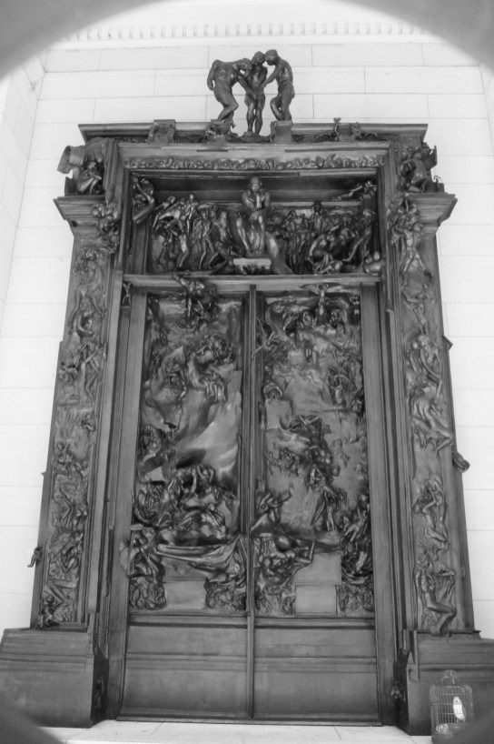 Gates of Hell at the Rodin Museum, Philadelphia, PA, July 2014
