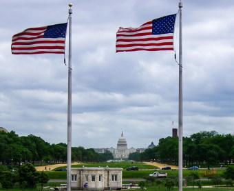 Washington Memorial twds Capitol-2