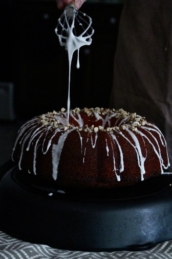 Citrus & Olive Oil Cake with Lavender-Thyme Glaze
