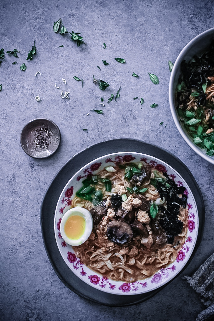 Spicy Quick-Fix Ramen with 7-Minute Eggs