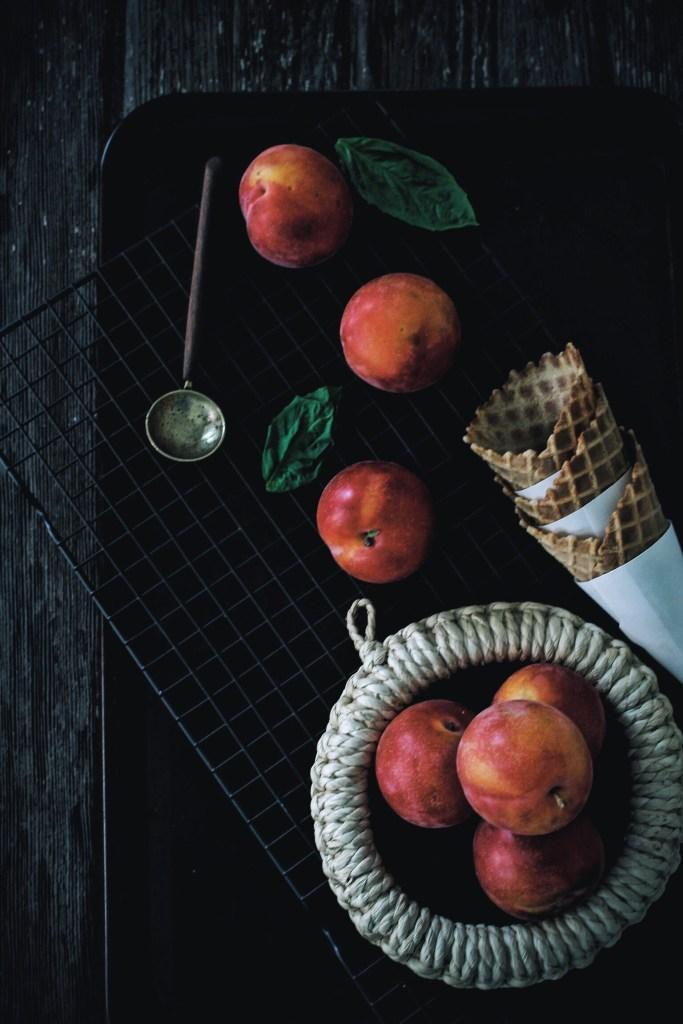 Apricot and Coconut Ice Cream