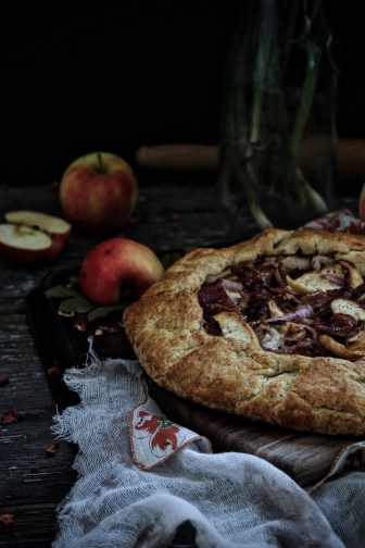 Fall Harvest Galette with Pumpkin Spiced Bacon