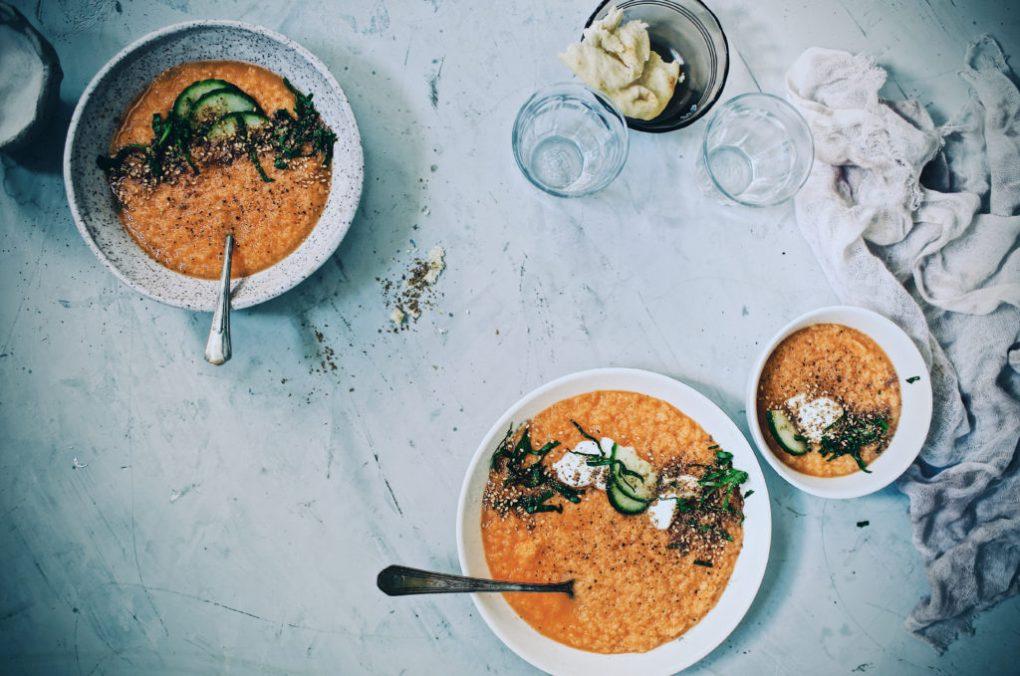 Cantaloupe Soup