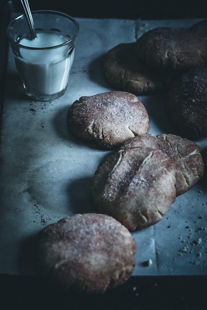 Browned Butter and Cardamom Snickerdoodle Cookies