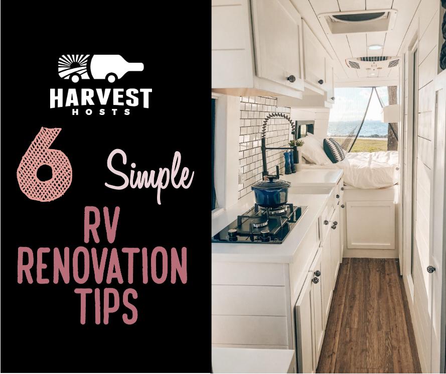 6 easy rv renovation ideas unique rv