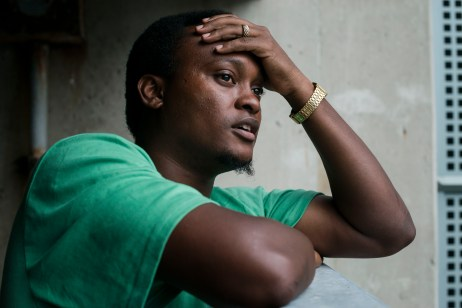 """It feels like the government just sells you out to a white man"" - Terron Baptiste, September 9, 2016. Terron Baptiste, a 30 year old Trinidadian man in the Seasonal Agricultural Worker Program, contract was terminated at the farm he worked at because he refused to do unsafe work that had previously injured him. Terron's employer, Matthew Hebblethwaite routinely cut the hours of workers who he deemed troublemakers, in order to starve them into returning back home. Terron described treatment at his work place as ""feeling like slavery"" and that he was workers were routinely treated ""worse than an animal"", being routinely punished for needing water, given 15 minute lunches and having wages stolen."