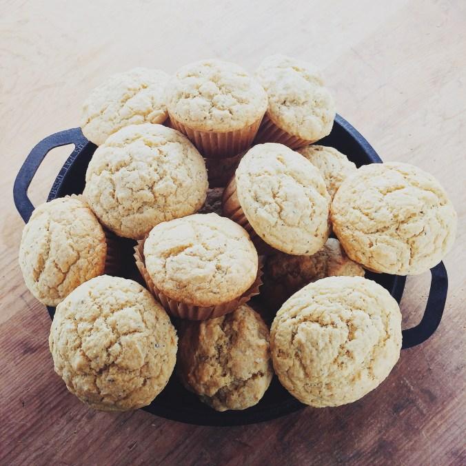 Rosemary Corn Muffins