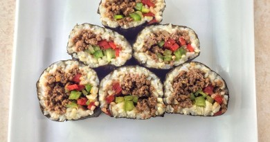 Ground Venison Sushi