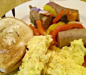 Venison Sausage Breakfast