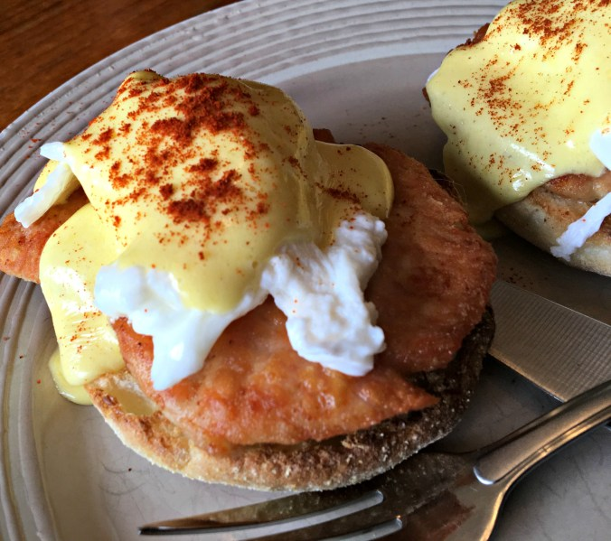 Wild Turkey Eggs Benedict