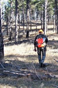 Muzzle loader hunting