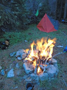 elk country camp fire