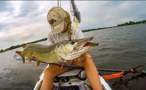 Kayak Muskie Fishing